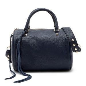 Rebecca Minkoff Signature Leather barrel satchel